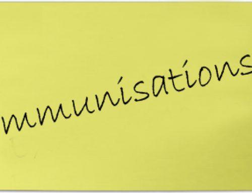 Year 9 DTP/Men ACWY Immunisations